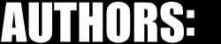 Authors - Bloggiest Bloggy Blog