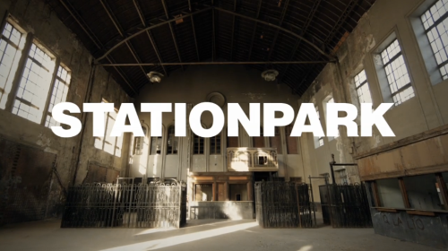 StationPark skateboarding with Kilian Martin. By Juan Rayos